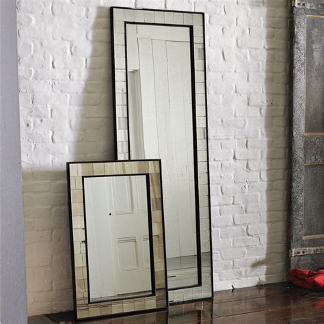 floor mirror the brick wall mirrors for living room ifresh design