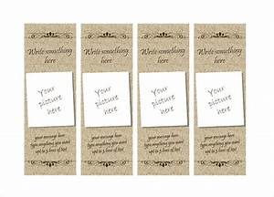 create your own bookmark template - 14 free bookmark templates psd vector eps free