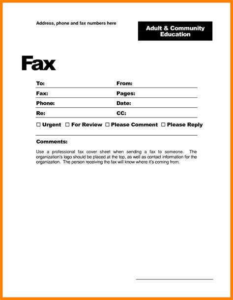 fax cover sheet free fax cover sheet professional personal blank exle