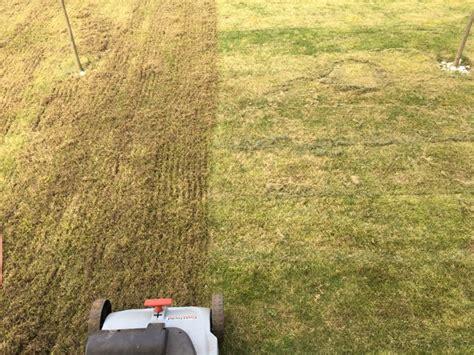 Rasen Vertikutieren Sommer by Rasen Richtig Vertikutieren Gartenhaus Gebraucht