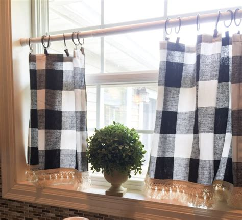 home decor dazzling buffalo check curtains  exciting