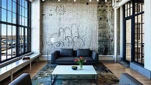 Inspiring Industrial Living Room Design Ideas - YouTube