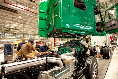 volvo  spend  million  virginia truck assembly plant