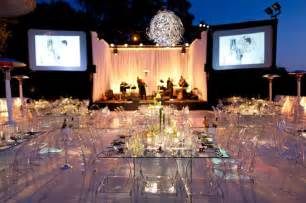 wedding tables and chairs modern glass tables ghost chairs wedding flowers clean modern