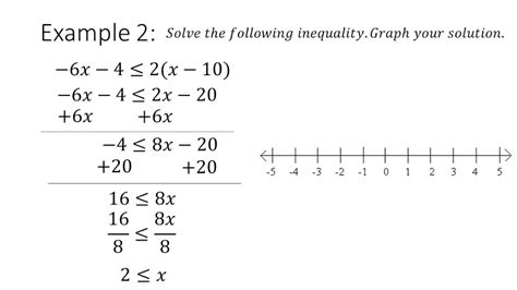 Solving Multistep Inequalities Youtube