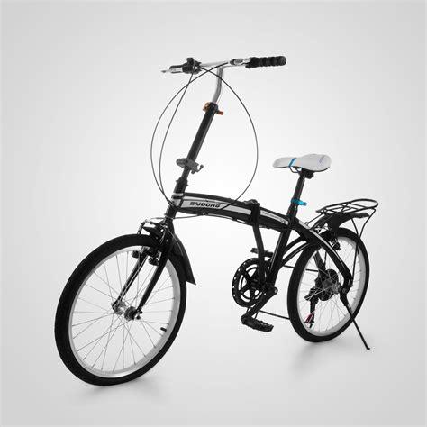 mini folding bike 20 quot mini folding bike 6 speed foldable bicycle shimano ride black cycling ebay