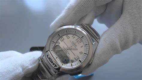 Men's Casio Analog Digital Databank Watch Aq180wd 7bv