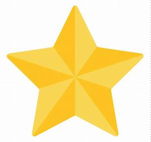 Gold Star Transparent - ClipArt Best