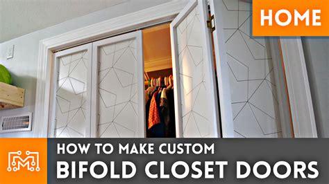 Custom Made Bi Fold Closet Doors by Custom Bifold Closet Doors I Like To Make Stuff