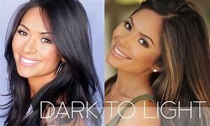How To Lighten Dark Hair At Home