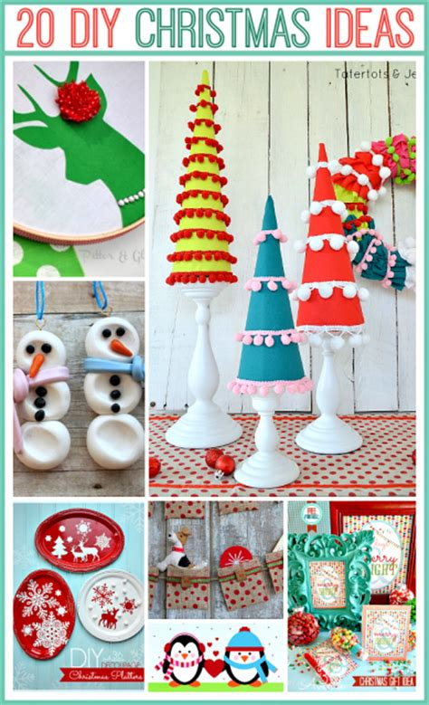 20 Adorable Handmade Christmas Projects At The36thavenue