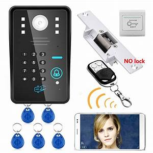 Maotewang Wireless Wifi Rfid Password Video Door Phone
