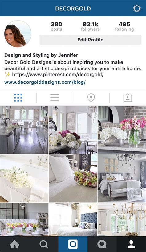 Home Design Ideas Instagram how to grow your instagram account decor gold designs