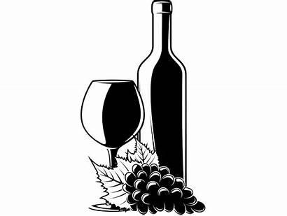 Wine Glass Bottle Wineglass Svg Bar Vector