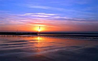 Sunset Beach Wallpapers 1080p Wallpapersafari Sunrise