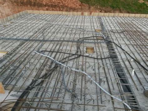Vorbereitungen Für Den Beton