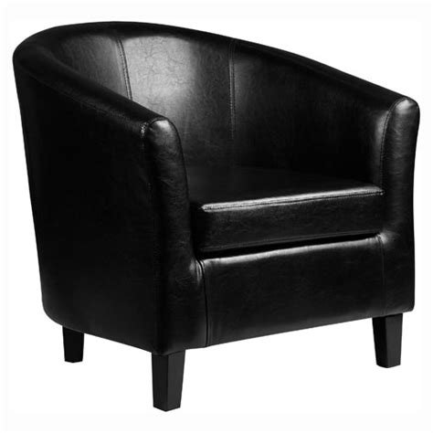 kent faux leather tub chair armchair available in brown