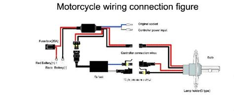 Bikemaster H4 Hid Kit Wiring Diagram by Motorcycle Hid Headlight Wire Harenss Buy Hid Wire