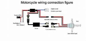 Motorcycle Hid Headlight Wire Harenss