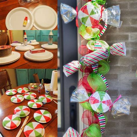 diy candy garland partyprops christmas decorations