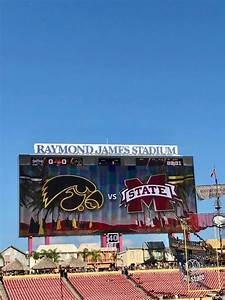 Pin By On Tampa Outback Bowl Raymond James