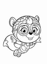 Wing Coloring Pages Shirley Squirrely Printable Fun Squirrel sketch template