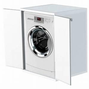 Waschmaschinenschrank Mit Tür : waschmaschinenschrank trocknerschrank kunststoffschrank haushaltsschrank wei 4017787896296 ebay ~ Sanjose-hotels-ca.com Haus und Dekorationen