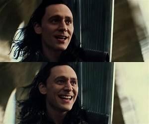 Loki's sexy smile :D | Thor and Loki | Pinterest | Sexy ...