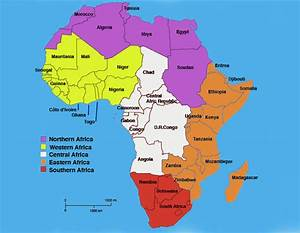 What Are the Names of Countries in Southern Africa - Bing ...