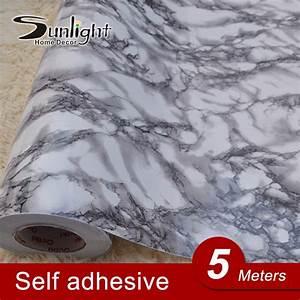 5M Modern PVC Marble Waterproof Vinyl Self adhesive ...