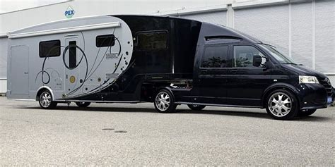 Luxuswohnmobile Mit Sauna Und Eingebauter Garage