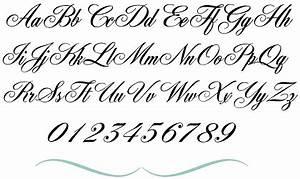 12 Fancy Cursive Fonts Images Tattoo Generator