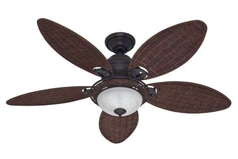 Hunter Caribbean Breeze Ceiling Fan Hu 54095 In Weathered