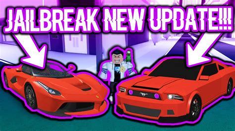 Buying The Brand New Cars In Roblox Jailbreak?! (ferrar