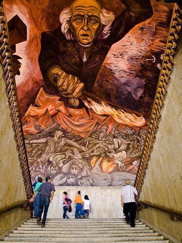 jose clemente orozco murales guadalajara 17 best images about clemente orozco pintor y muralista de