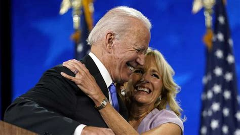 biden joe democratic jill wife speech nomination end accepts season his wilmington after vows darkness convention aug hugs presidential candidate