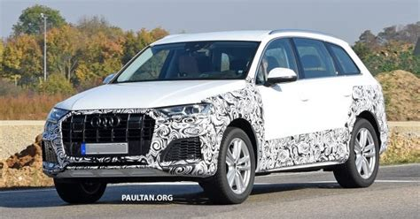 Neues Audi Q7 Facelift by Spied Audi Q7 Facelift Spotted To Get New Q8