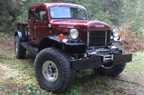 Legacy Classic Trucks Dodge Power Wagon Defines Custom Off