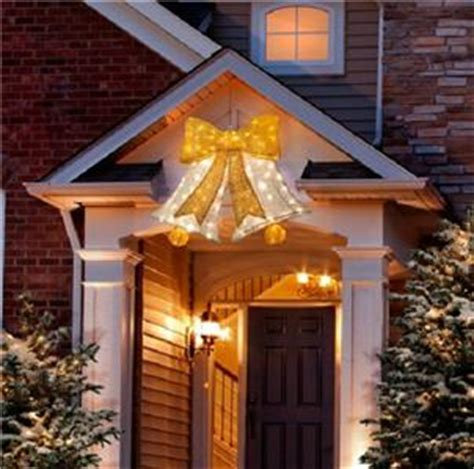 outdoor möbel sale sale lighted pre lit hanging bell outdoor