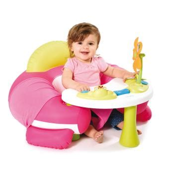 smoby siege gonflable siège gonflable smoby cotoons cosy seat jeu d 39 éveil