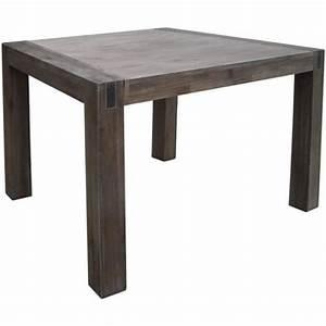 Table En Acacia : table en acacia massif maison design ~ Teatrodelosmanantiales.com Idées de Décoration