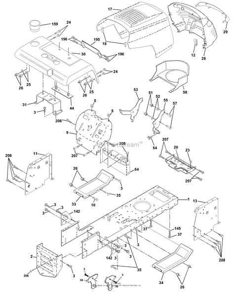 Ayp Electrolux Qpha Parts Diagram For Chassis