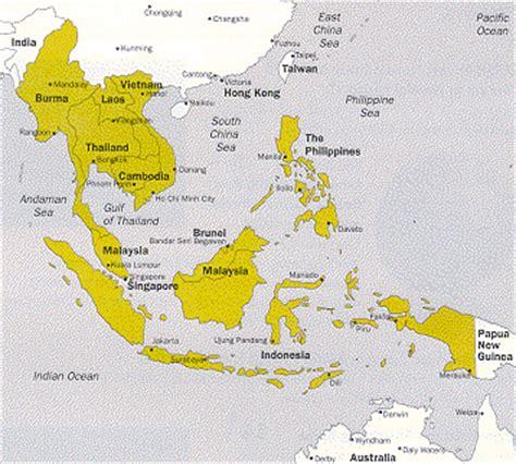 Gambar Peta Asia Tenggara Asean Printablehd Gambargambar Didunia Brainlycoid Belajar