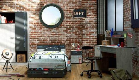 chambre industriel deco déco chambre style industriel