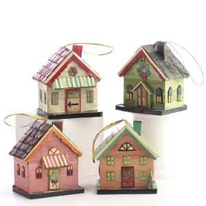 pin miniature holiday village house ornaments christmas sale cake on pinterest