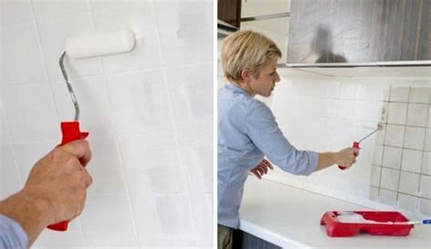 une credence de cuisine repeindre le carrelage d 39 une crédence de cuisine côté maison