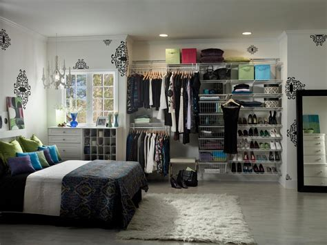 Bedroom In Closet by Top 3 Styles Of Closets Hgtv