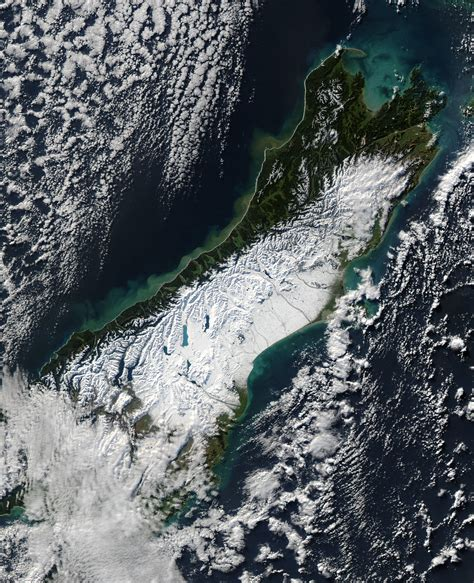 Snow In New Zealand Image Of The Day