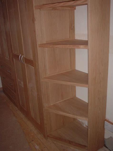 fitted oak wardrobe  integrated shelving gallery