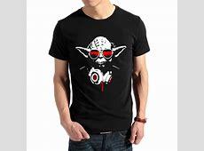 Cool DJ Yoda TShirt Star Wars merchandise
